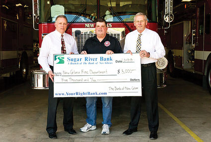 The Bank Of New Glarus And Sugar River Bank Branches Donate To New